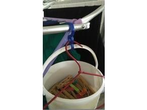 hang basket washing machine