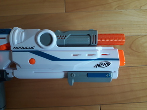 Extended Muzzle/Barrel for Nerf Mediator Front Gun