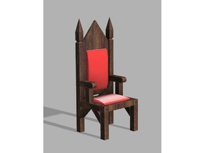 Medieval dining chair