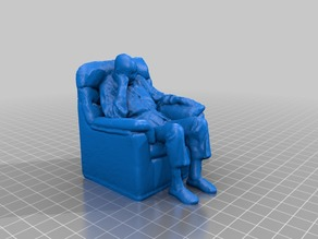 Man in a chair