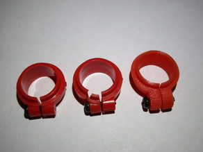 Kyosho Javelin shock clamp