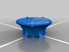Pedestal for 3D prints