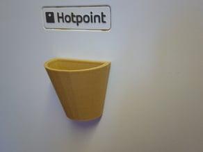 Fridge magnet plant pot