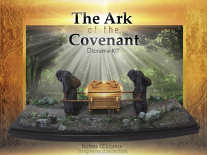 The Ark of the Covenant - Diorama-KIT