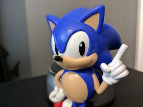 Sonic the Hedgehog! (with Logo)