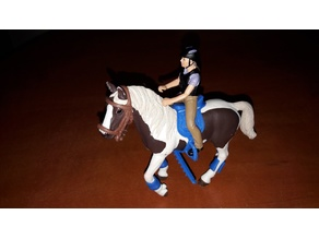 saddle (for horse schleich)