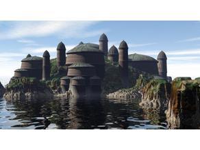 Nubain Buildings - Naboo (x-wing)