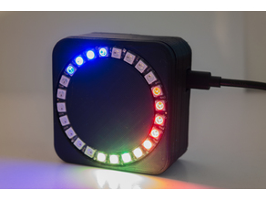 RGB LED Analog Clock