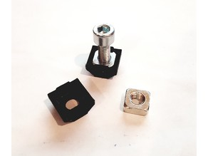 3030 6mm Square nut adapter