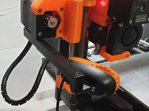 Simple C270 holder, with integrated cable stress retainer