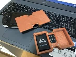 Sony PSP 2x Extra Battery + Memory Stick CASE