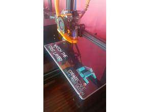 optimized CR-10 E3D V6/Volcano hotend mount