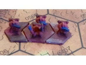 Infantry for Ogre Board game