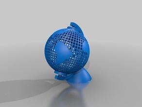 globe earth globus