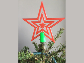 xmas tree top (star)