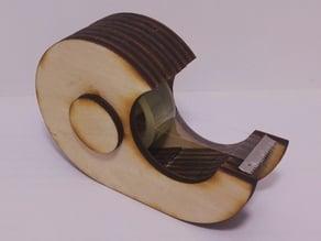adhesive tape roller - lasercut