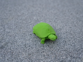 Low Poly Schildkröte