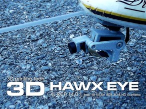 XL-RCP 14.0 HAWX EYE : Nano camera pan-tilt for 808 #16