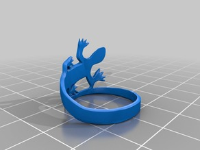 easy print lizard ring