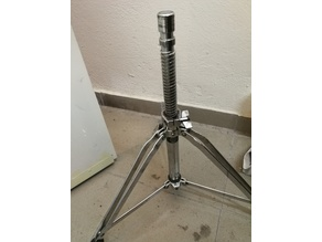 Dixon Drum Stool threaded clamp