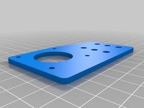 V-Slot NEMA 17 offset mounting plate