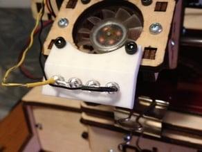 5mm light bracket for Printrbot LC V2 w/fan mount