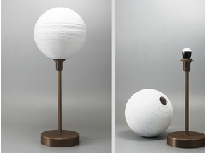 Jupiter lamp with base