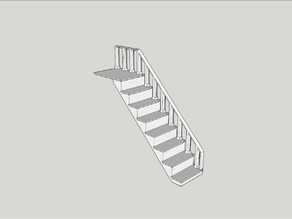 Stairs for Sylvanian Families house