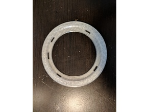 Phillips SHP9500s Round Ear Pad cup mod