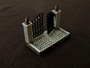 Graveyard Main Gate Tile - OpenForge Compatible