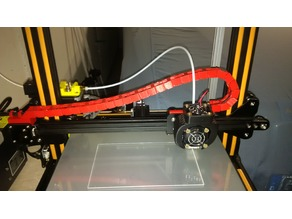 Creality CR-10 X-Axis cable chain