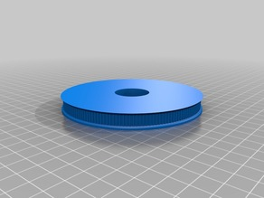 My Customized GT2 160 Tooth Pulley Knob for HV-4 Rotary Table