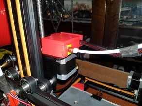 CR-10 extruder cover