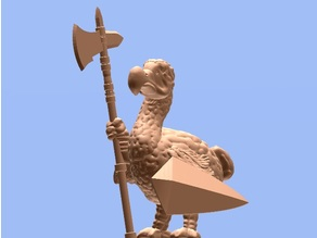 Dodo Guard (28mm/Heroic scale)