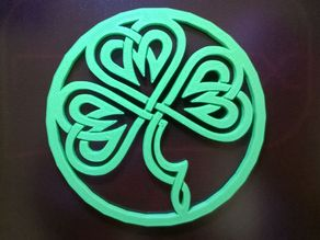 Celtic Clover Coaster