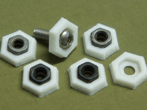 Hex Nut Stress Relieving Washer