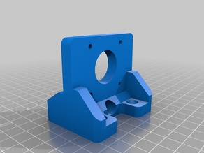 Noise Reduction Y Axis Motor Mount for Anet A6/A8
