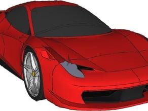 Ferrari 458 Model Kit