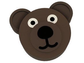 Prusa Bear LCD control knob (for Prusa Bear frame)