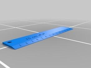 ruler \ righello 15 cm