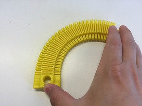 Customizable Flexible Toy Train Tracks