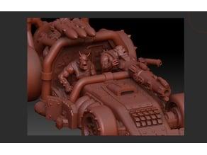 Orkz Driver to Dragsta model