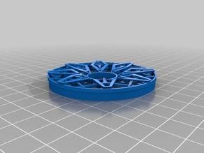 wheel (rim) - HRE wheel 3d print