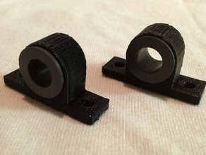 RepRap Y-carriage Igus bushing holders