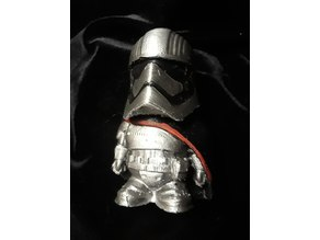 Star Wars Storm Trooper, Captain Phasma, Chibi Style