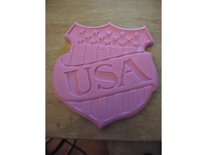 USA - Happy Birthday America coin / wall mount plague