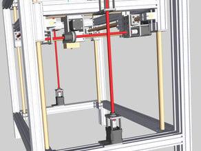 T0PAZ 3D Printer Frame