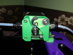 Simple Bowden Extruder