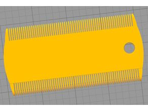 Double Flea Comb for Cat or Monkey