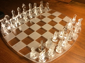 lasercut chess games